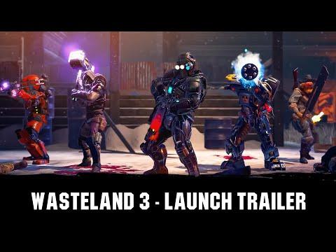 Wasteland 3 - Launch Trailer [DE]