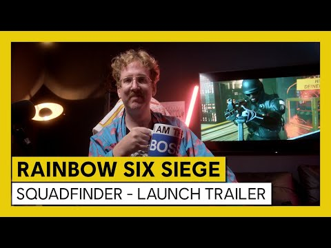 Tom Clancy's Rainbow Six Siege - SquadFinder - Launch Trailer | Ubisoft [DE]