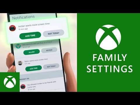 How the Xbox Family Settings App Works