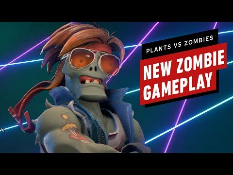 Plants vs. Zombies: Battle for Neighborville - New Zombie Gameplay