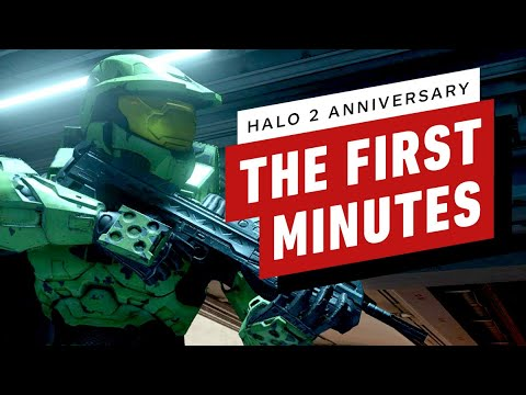 The First Minutes of Halo 2 Anniversary Campaign PC Gameplay