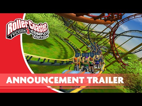 RollerCoaster Tycoon 3: Complete Edition Nintendo Switch Announce Trailer