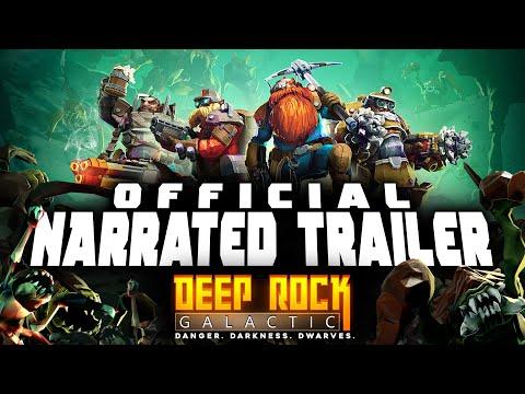 Deep Rock Galactic - Official GSG Narrated Trailer
