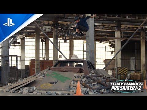 Tony Hawk's Pro Skater 1 + 2 - Warehouse Stunt Trailer | PS4