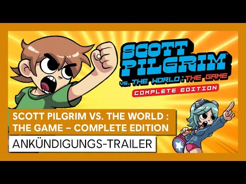 Scott Pilgrim vs. The World: The Game – Complete Edition | ANKÜNDIGUNGS-TRAILER | Ubisoft [DE]