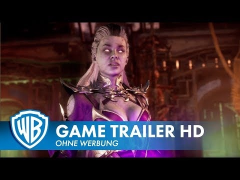 MORTAL KOMBAT 11 – Sindel Gameplay Trailer Deutsch HD German (2019)