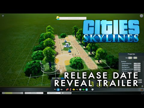 Cities: Skylines - Release Date Reveal Trailer [60fps]