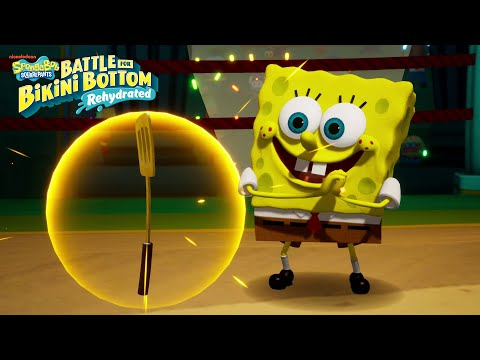SpongeBob SquarePants: Battle for Bikini Bottom - Rehydrated - Release Trailer