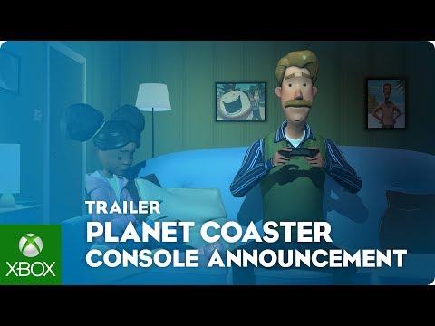 Planet Coaster: Console Edition   Announcement Trailer