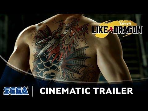 Yakuza: Like a Dragon Cinematic Trailer (DE USK)