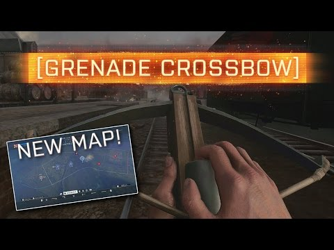 ► GRENADE CROSSBOW GAMEPLAY! - Battlefield 1 Giants Shadow (Early Access)