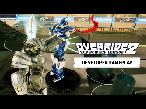 Override 2: Super Mech League – Developer Gameplay and Release Date