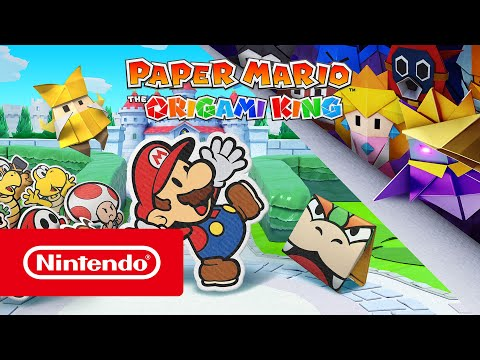 Paper Mario: The Origami King - Ab 17. Juli erhältlich! (Nintendo Switch)