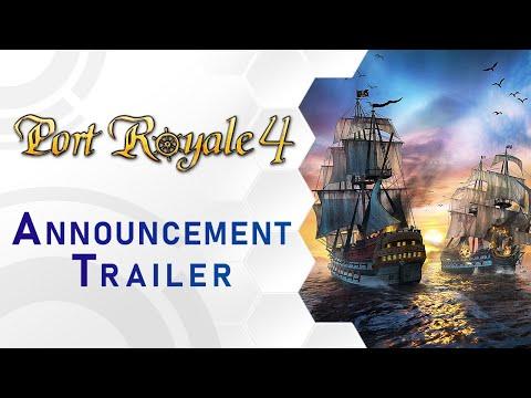 Port Royale 4 - Announcement Trailer (DE)
