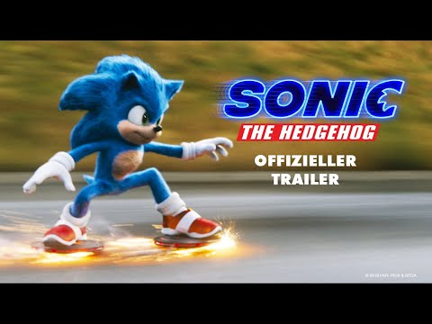 SONIC THE HEDGEHOG | OFFIZIELLER TRAILER | Paramount Pictures Germany