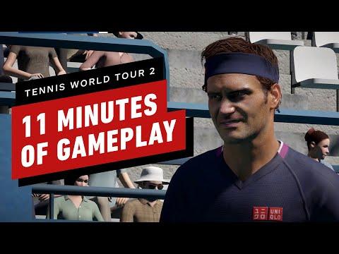 Tennis World Tour 2 - 11 Minutes of Gameplay
