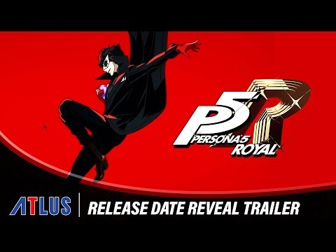 Persona 5 Royal | Release Date Reveal Trailer (USK)