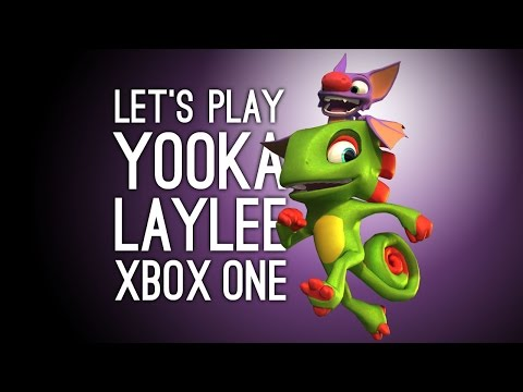 Yooka Laylee Xbox One Gameplay: Let's Play Yooka Laylee Toybox Demo on Xbox One