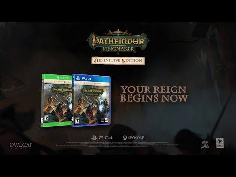 Pathfinder: Kingmaker - Definitive Edition - Console Launch Trailer [DE]