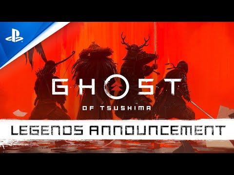 Ghost of Tsushima: Legends | Ankündigungstrailer | PS4, deutsch