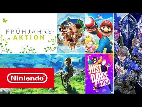 Frühjahrsaktion 2020 - Bis zu 80 % Rabatt! (Nintendo Switch)