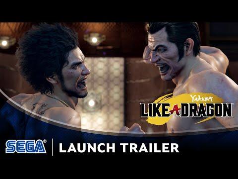 Yakuza: Like a Dragon | Launch Trailer (DE USK)