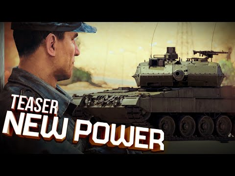 'New Power' update teaser / War Thunder