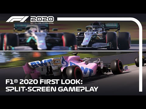 F1® 2020 First Look | Split-screen Gameplay (DE)