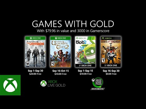 Xbox - September 2020 Games with Gold