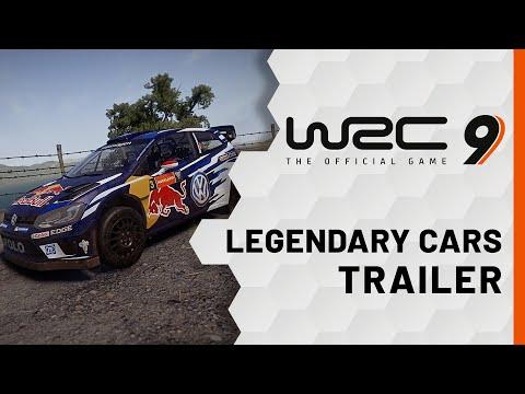 WRC 9   Legendary Cars Trailer