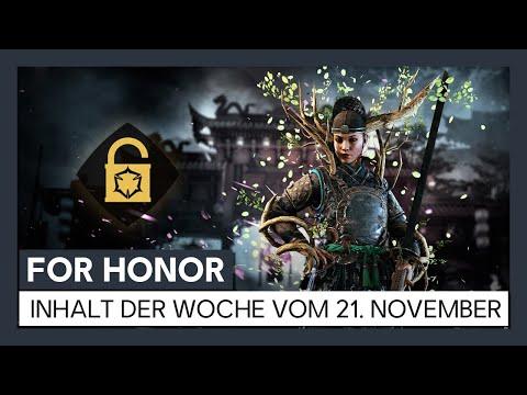 FOR HONOR - Inhalt der Woche vom 21. November: Neuer Effekt | Ubisoft [DE]