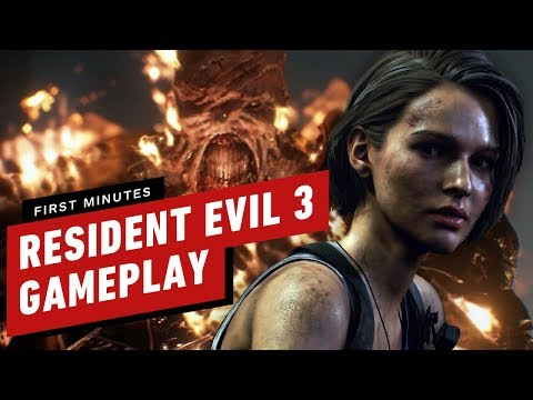 The First 16 Minutes of Resident Evil 3 Gameplay