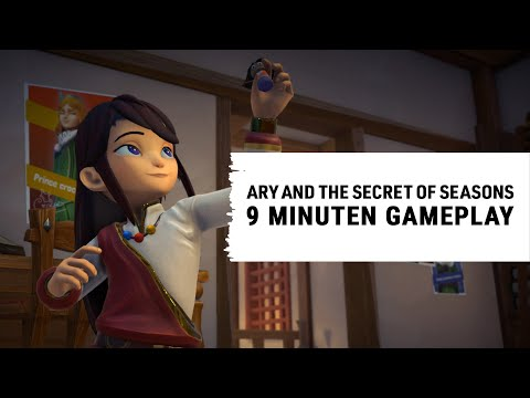 Ary and the Secret of Seasons – Gameplay-Spotlight [GER]