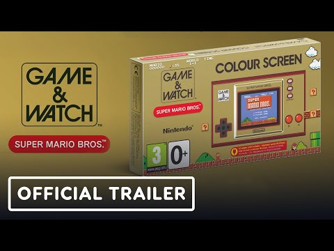 Super Mario Bros. Game & Watch - Official Trailer