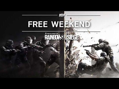 Tom Clancy's Rainbow Six Siege : Free Weekend Trailer