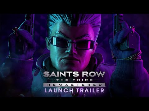 Saints Row®: The Third™ - Remastered Launch-Trailer [USK]