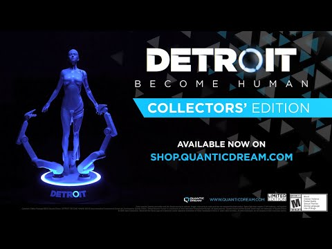 Detroit: Become Human Collectors' Edition - Overview