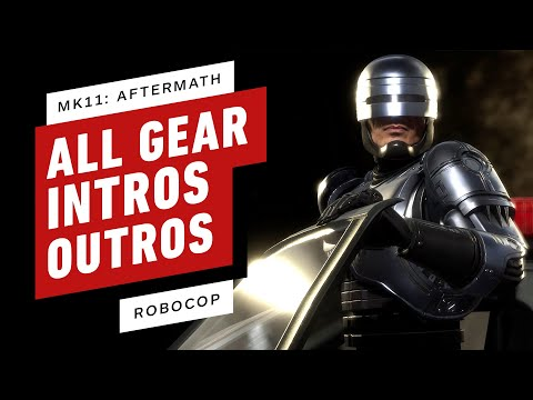 Mortal Kombat 11 Aftermath: RoboCop - All Gear, Skins, Intros, and Outros