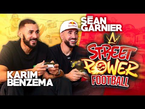 Karim Benzema defies Séan Garnier (Street Power Football) - English subtitles full version
