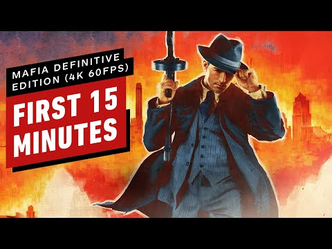 Mafia Definitive Edition: First 15 Minutes On an Nvidia RTX 3080 (4K 60FPS)