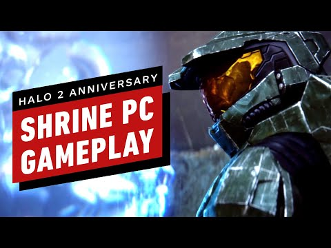 Halo 2 Anniversary - Shrine Multiplayer PC Gameplay (The Master Chief Collection)