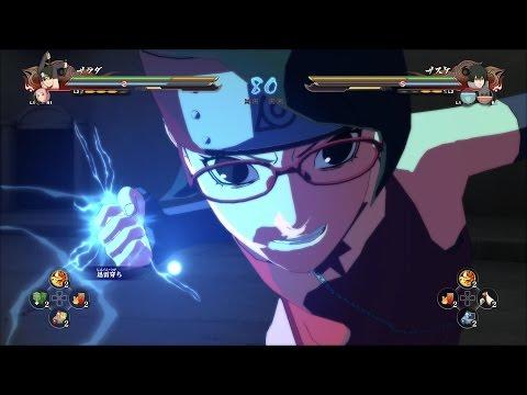 PS4「NARUTO-ナルト- 疾風伝 ナルティメットストーム4 ROAD TO BORUTO」プレイ動画 うちはサラダ