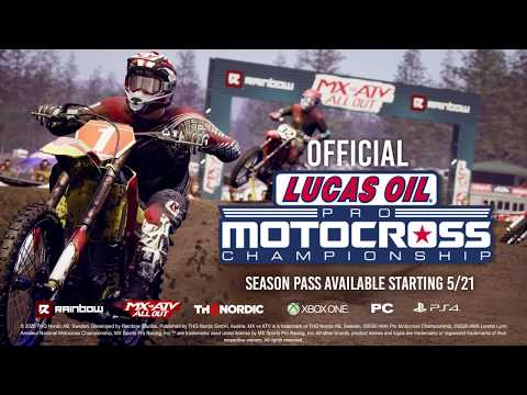 MX vs ATV All Out - 2020 AMA Pro Motocross Championship DLC Trailer