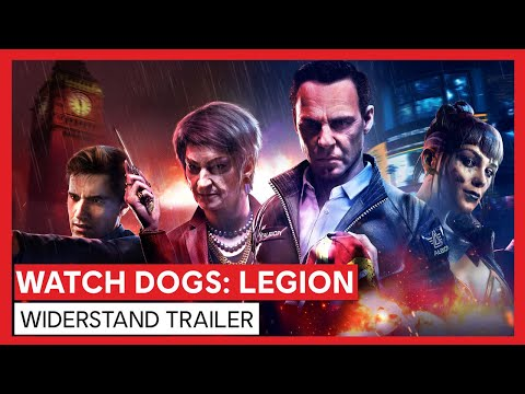 Watch Dogs: Legion - Widerstand Trailer | Ubisoft [DE]