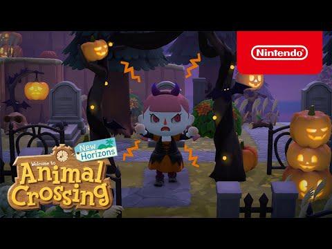 Halloween hält Einzug in Animal Crossing: New Horizons im Update am 30. September! (Nintendo Switch)