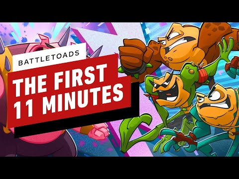 The First 11 Minutes of Battletoads