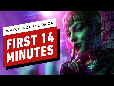 Watch Dogs: Legion - First 14 Minutes of Gameplay (1440p 60fps)