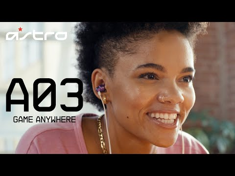A03 In-Ear Monitors    ASTRO Gaming
