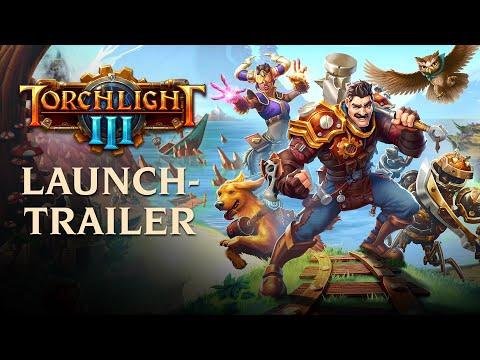 Torchlight III - Offizieller Launch-Trailer