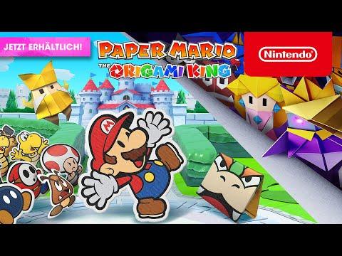 Paper Mario: The Origami King – jetzt erhältlich! (Nintendo Switch)